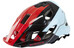 SixSixOne Evo AM - Casque - rouge/bleu